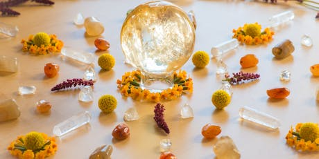 Sacred Light Solstice Sound Bath by Arlene Uribe with an Energetic Clearing and Healing Transmission by Chloe Hudson Illuminated with Reiki and ARK Crystal Healing by Katie Manzella tickets