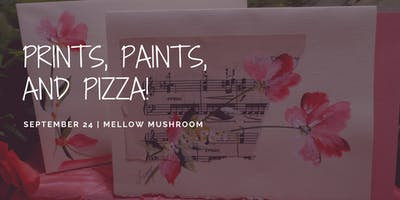 Prints, Paints, and Pizza: Flower Charity Event