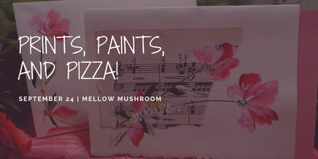 Prints, Paints, and Pizza: Flower Charity Event tickets