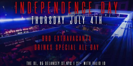 DL NYC Rooftop July 4th tickets