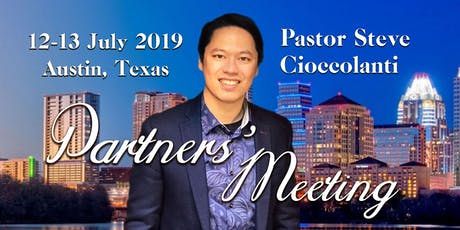 Pastor Steve Cioccolanti | Partners' Meeting tickets