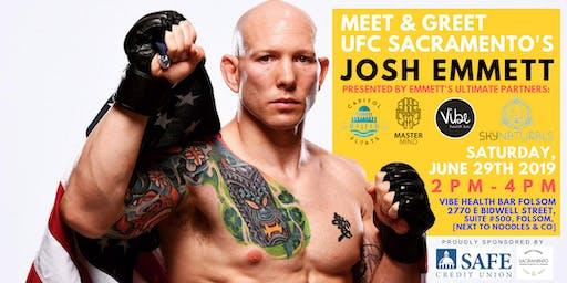 Official Meet & Greet with UFC Sacramento's Josh Emmett | *Folsom*