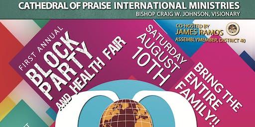COPIM Block Party/Health Fair