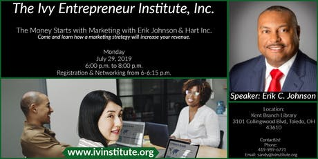 The Money Starts with Marketing with Erik Johnson & Hart Inc. tickets