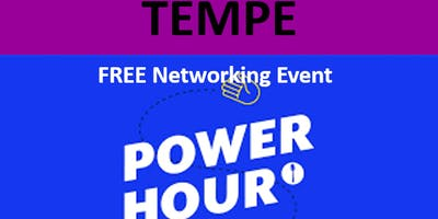 10/8/19 PNG Tempe Chapter – FREE Hour of Power Networking Event
