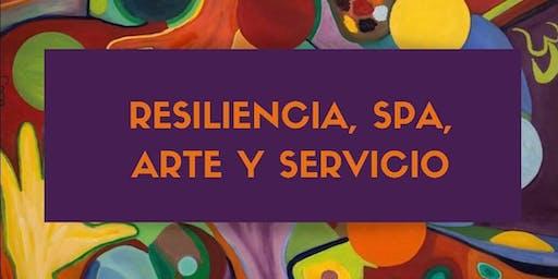 """Presentación de Libro: """"Resiliencia, Spa, Arte y Servicio"""" y Conferencia."""