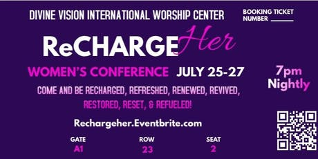 RECHARGEHer - WOMEN'S CONFERENCE - SUMMER EDITION  tickets