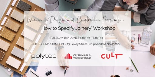 "WIDAC NSW - ""How to Specify Joinery"" Workshop"