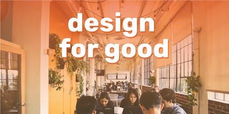 Design for Good: Mini design hackathon tickets