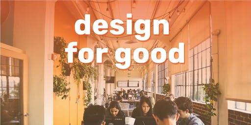 Design for Good: Mini design hackathon