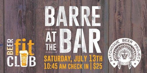 Barre at the Bar