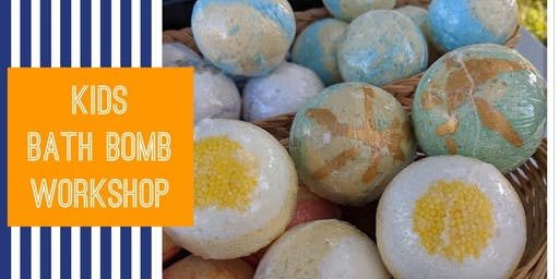 KIDS Bath Bomb Workshop