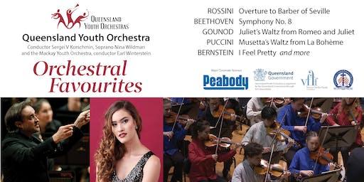 Orchestral Favourites - Queensland Youth Orchestra & Soprano Nina Wildman