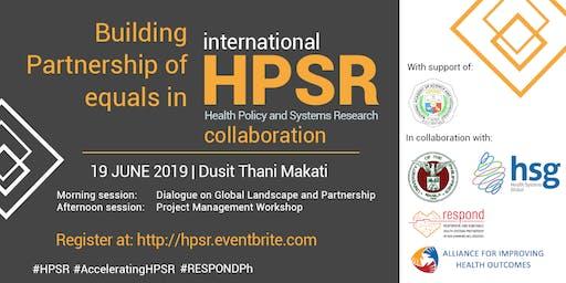 Building Partnerships of Equals in International HPSR Collaboration