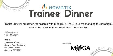 Novartis Trainee Dinner tickets