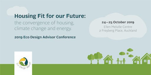 Housing Fit for Our Future: Eco Design Advisor Conference 2019