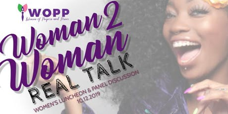 Woman 2 Woman: Real Talk  (Vendors & Sponsors) tickets