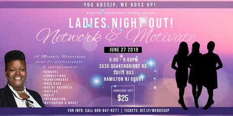 Ladies Night Out | Network & Motivate! tickets