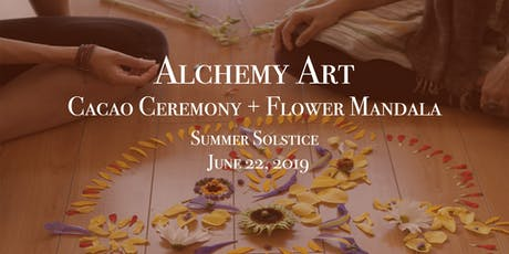 Cacao Ceremony + Flower Mandala  tickets