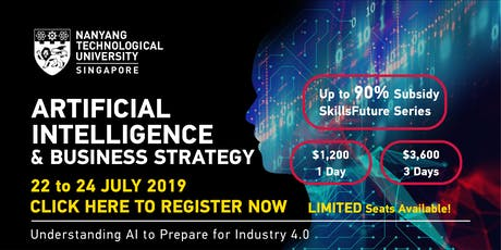 SkillsFuture Series: Artificial Intelligence & Business Strategy Programme tickets