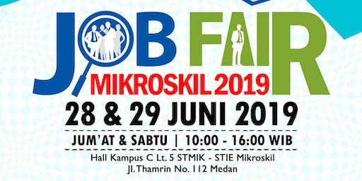 Job Fair Mikroskil 28 - 29 Juni 2019