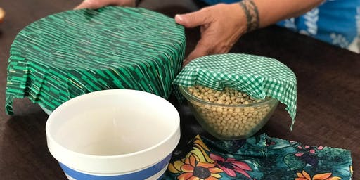 Plastic Free July: Beeswax Wrap Workshop