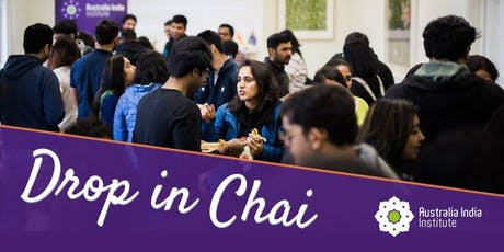 Drop in Chai - October tickets