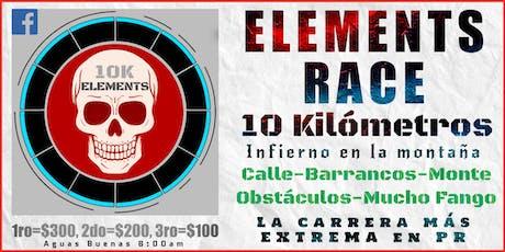 Elements Race 10K: Infierno en la montaña tickets