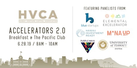 HVCA Breakfast - Accelerators 2.0 tickets