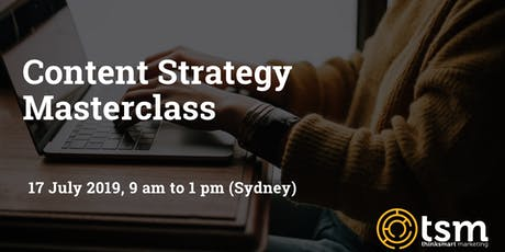 Content Strategy Masterclass tickets