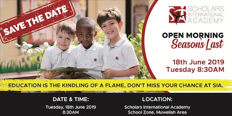 Open Morning, 18th June, 2019 tickets