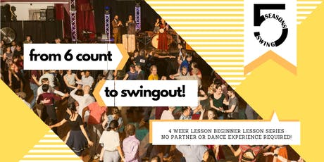 6 Count to Swing Out with 5 Seasons Swing! tickets