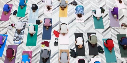 lululemon International Day of Yoga