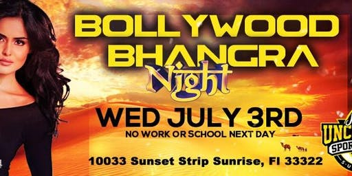Bollywood Bhangra night in Sunrise