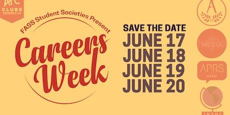 FASS Societies' Careers Week tickets