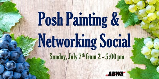 Posh Painting & Networking Social