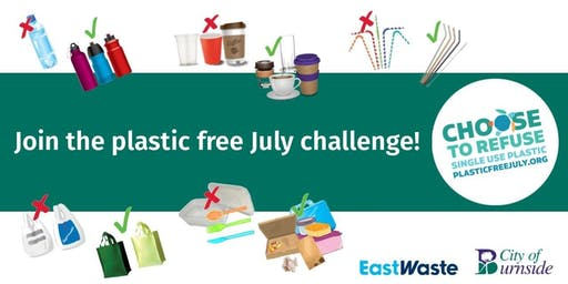 Go Plastic Free in July and beyond!