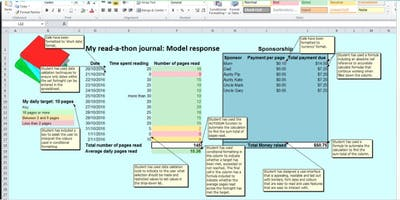Excel for teachers of year 5 and 6