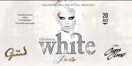 The Annual WHITE PARTY featuring live performance by CHRIS CLOUSE  | 07.20.19 tickets