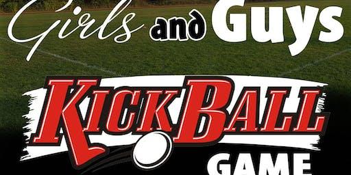 Girls and Guys Adult Kick Ball Game