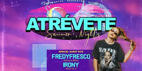 ATREVETE (Reggaeton & Hip Hop Party) 21+ tickets