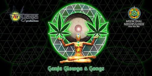Ganja, Glowga & Gongs - Blacklight Yoga and Gong Bath