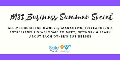 M33 Business Summer Social