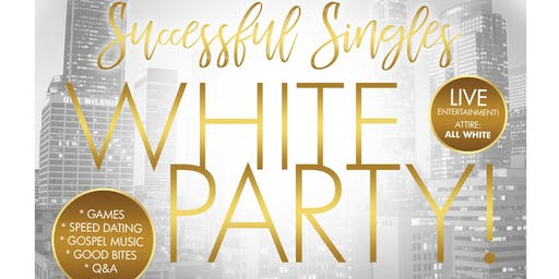 Christian Successful Singles White Party