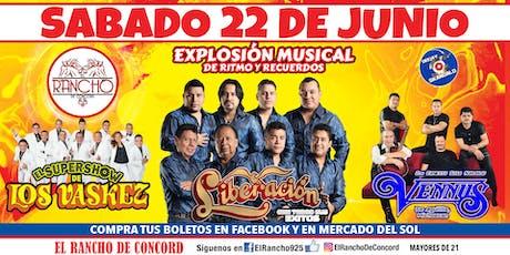 Liberacion-Sabado 22 de Junio-El Rancho de Concord tickets