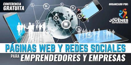 PÁGINAS WEB Y REDES SOCIALES PARA EMPRENDEDORES Y EMPRESAS - QUITO entradas