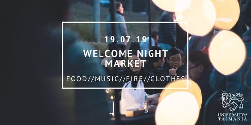 Welcome Hobart Night Market // Music // fire // food // clothes