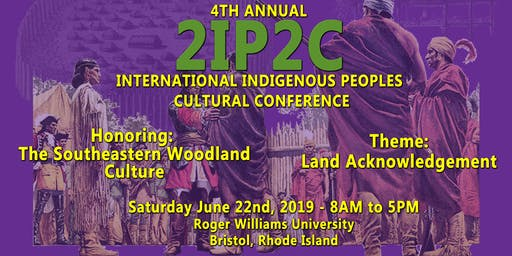 4th Annual International Indigenous Peoples Cultural Conference