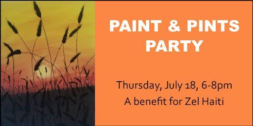 Paint & Pints Party