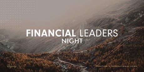 Financial Leaders Night tickets